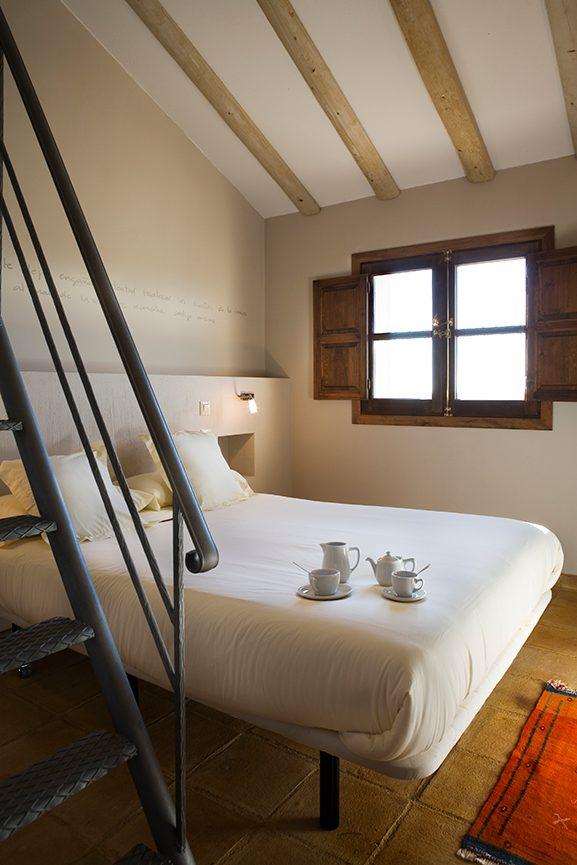 Hotel Rural La data en Gallegos (Segovia) - Habitaciones